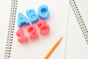 学校教育イメージ―英語と算数・数学